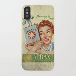 Abraxo - Custom Fallout Ad iPhone Case