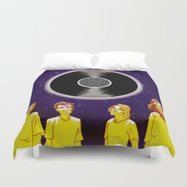 """Superunknown"" by Dmitri Jackson Duvet Cover"