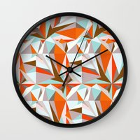 italian Wall Clocks featuring Italian Seaside by Norman Duenas