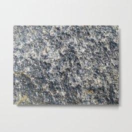 Granite Metal Print