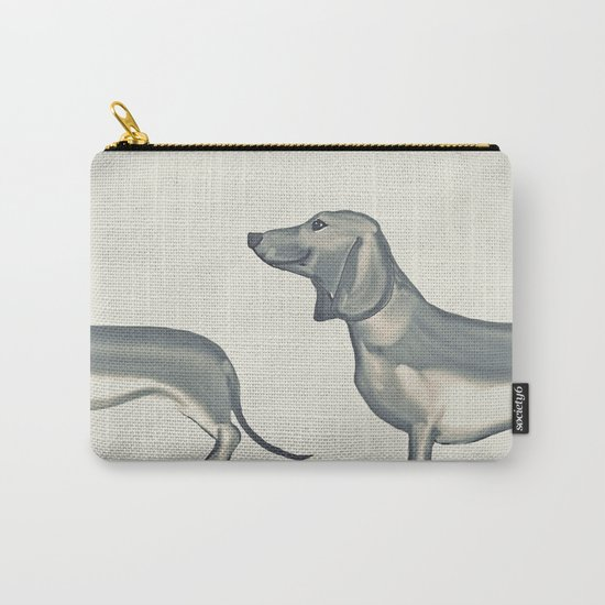 SAUSAGE DOG Carry-All Pouch