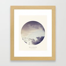 There Is Another World Framed Art Print