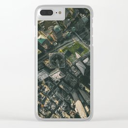 9/11 Memorial Sites Clear iPhone Case