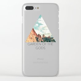 Garden of the Gods Clear iPhone Case