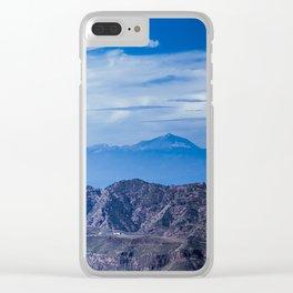 Degollada de Becerra Clear iPhone Case
