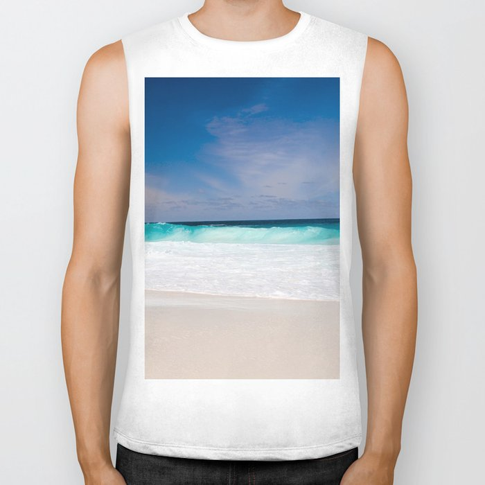 Mexico Waves Biker Tank