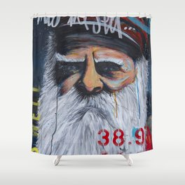the Captain #02 Shower Curtain