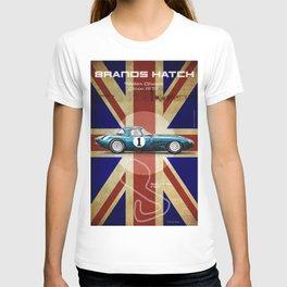 Brands Hatch E-Type Vintage T-shirt