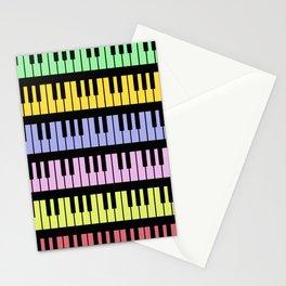 Rainbow Music Stationery Cards