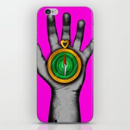 'Follow your heart' iPhone Skin
