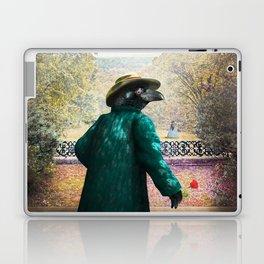 Ronaldo Raven on his way to a Romantic Rendezvous Laptop & iPad Skin