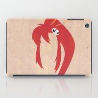 gurren lagann iPad Cases featuring Minimalist Yoko by 5eth
