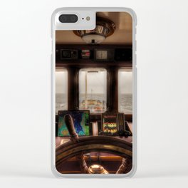 captain's cabin Clear iPhone Case