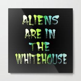 Aliens 1 Metal Print