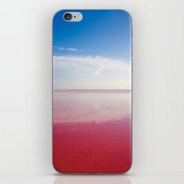 Pink ocean iPhone Skin