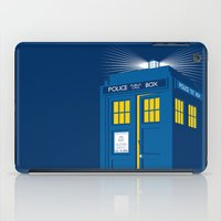 tardis iPad Cases featuring TARDIS by Digital Arts & Crafts by eXistenZ