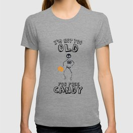 Halloween candy funny costume gifts T-shirt