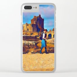 I Dream of Scotland Clear iPhone Case
