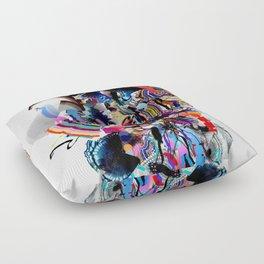 Woman Floor Pillow