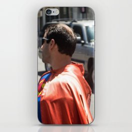 Super and spider iPhone Skin