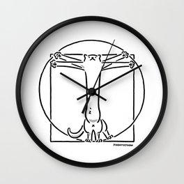 Vitruviancat Wall Clock