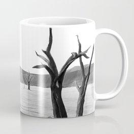 deadvlei desert trees acrbw Coffee Mug