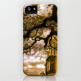 Southern Mansion iPhone Case