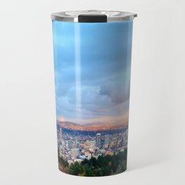 DOWNTOWN PORTLAND - SUMMER Travel Mug