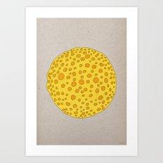 - sick planet - Art Print