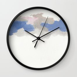 clouds_february Wall Clock