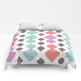 Desert Blocks Comforters