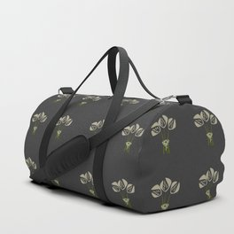 Abstract Art Deco Style Tulips Duffle Bag
