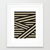 decal Framed Art Prints featuring Bandage by Charlene McCoy