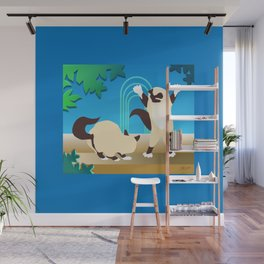 """I'm Taller Than You"" Wall Mural"