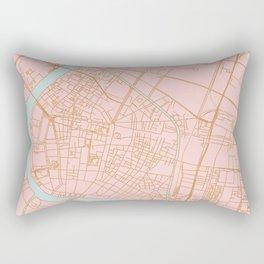 Bangkok map Rectangular Pillow
