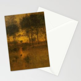 George Inness - Home of the Heron Stationery Cards