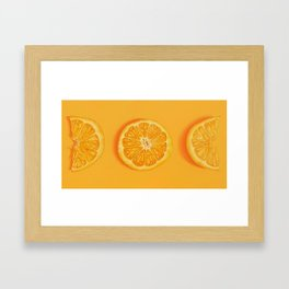 Phases (Zoom) Framed Art Print