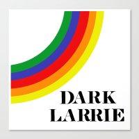 larry stylinson Canvas Prints featuring Dark Larrie (Larry Stylinson) by Arabella