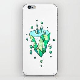 Little Emerald World iPhone Skin