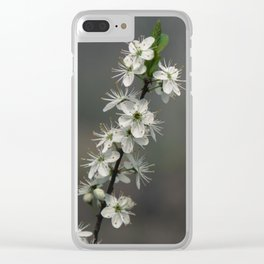 Common hawthorn Clear iPhone Case