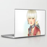 birdy Laptop & iPad Skins featuring Birdy by Lotty