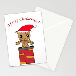 Christmas Baby Tree Stationery Cards