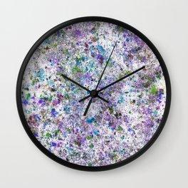 Abstract Artwork Colourful #6 Wall Clock