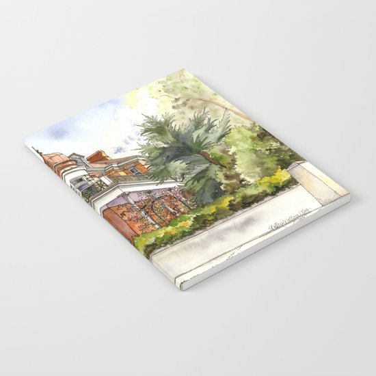 Stately Manor House Notebook