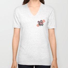 Floralia Unisex V-Neck