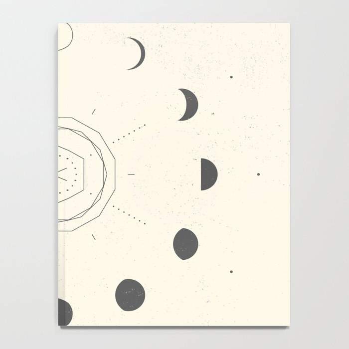 Moon Phases Light Notebook