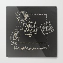 Modest Mouse - Blue Cadet 3 Do You Connect Metal Print