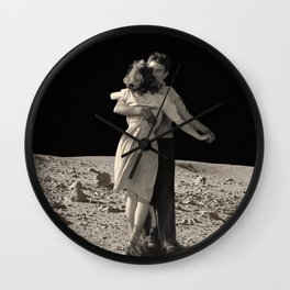 Give Me The Moon Wall Clock