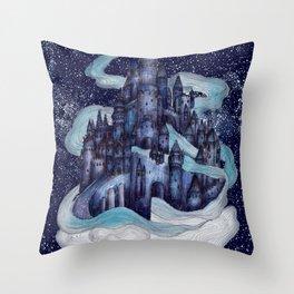 Dream Castle Throw Pillow