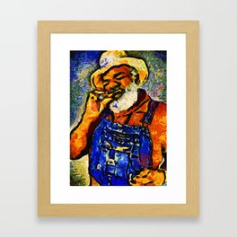 Grandpa Elliott Sugar Sweet Framed Art Print